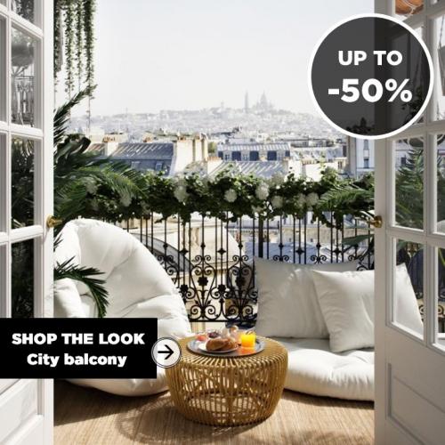 SHOP THE LOOK | City Balcony