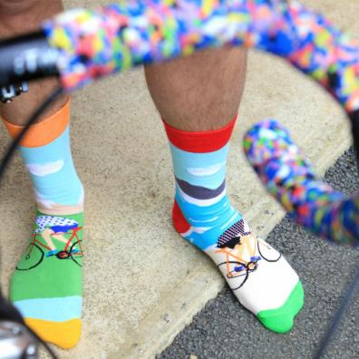 United Oddsocks | Socken mit verrückten Prints