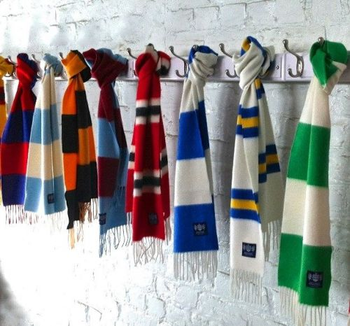 Savile Rogue | Cashmere Football Scarves