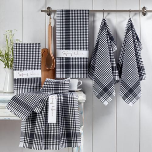 Hobby & Eponje | Weich & stylisch: Textilien für Küche und Bad