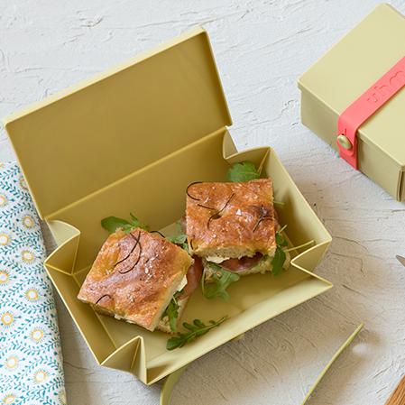 Uhmm Box   Faltbare & mikrowellenfeste Lunchboxen