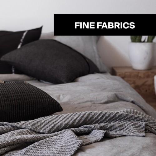 Fine fabrics | Plaids, cushions & more