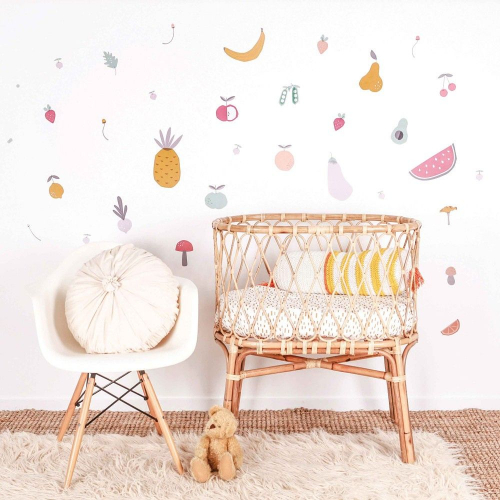 LOVE MAE | Adorable Textile Wall Stickers