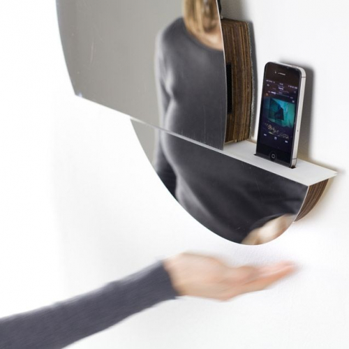 Digital Habbit | Mirror with Gesture Based Interface