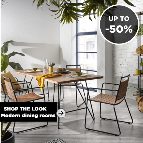 SHOP THE LOOK | Modern Dining Rooms