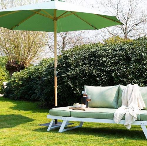 Lanterfant | Farbtupfer mit Schutzfunktion: Bunte Sonnenschirme
