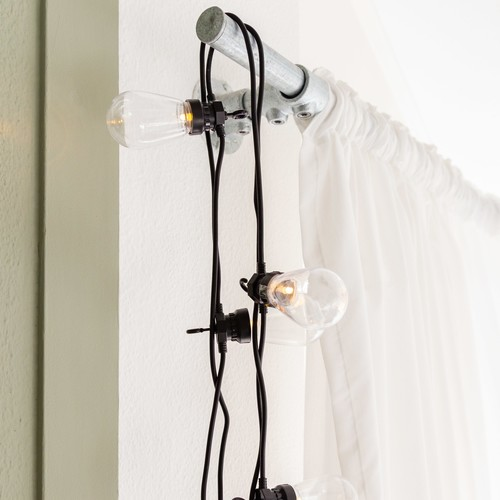 Ledr | Mach's dir gemütlich: Bunte Outdoor-Lichterketten