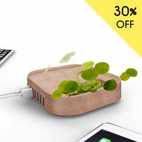 Mobility on Board | Charge Your Device & Grow Plants
