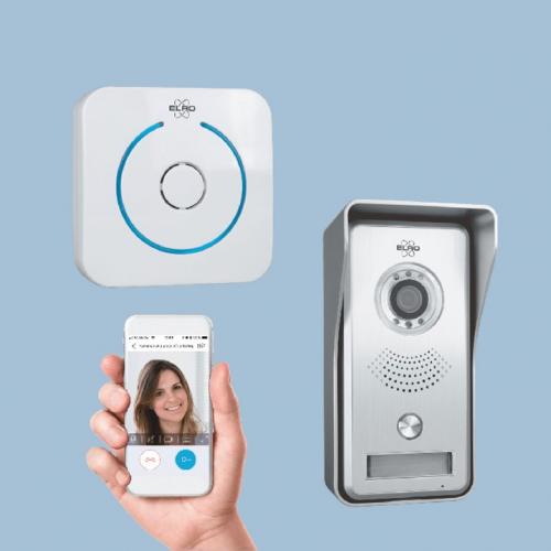 ELRO | Einfach auf deinem Smartphone sehen, wer vor deiner Tür steht