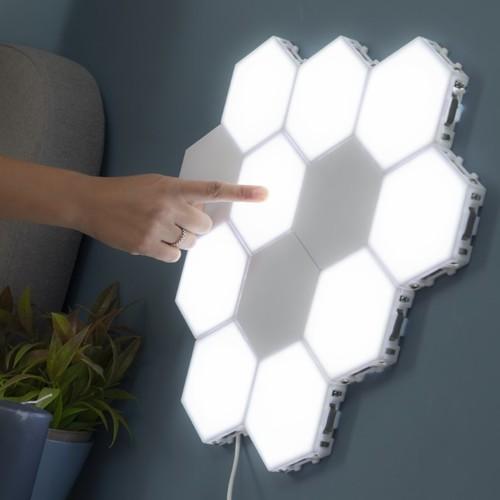 InnovaGoods   Witzig & praktisch: Modulare Wandlampen