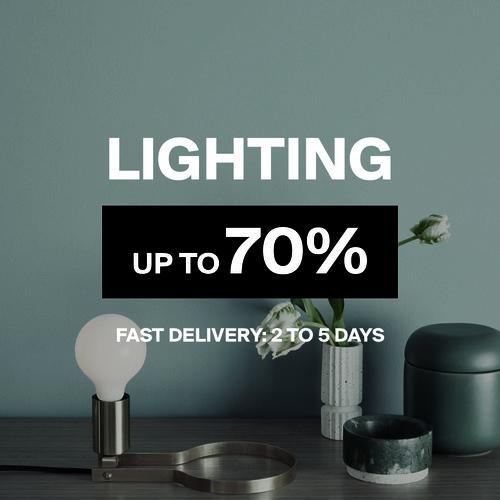 Lighting | Up to 70%