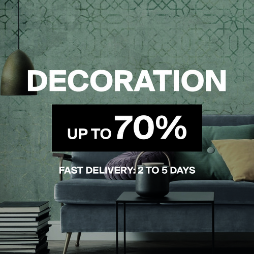 Decoration | Up to 70%