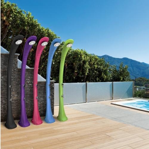 Formidra | Solarbetriebene Outdoor-Duschen