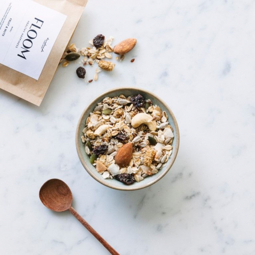 Floom | Organic Granola with Surprising Flavours