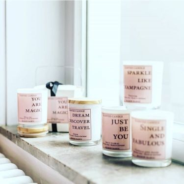 Maison Babou | Scented candles with quotes