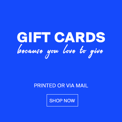 Gift cards   A gift for everyone