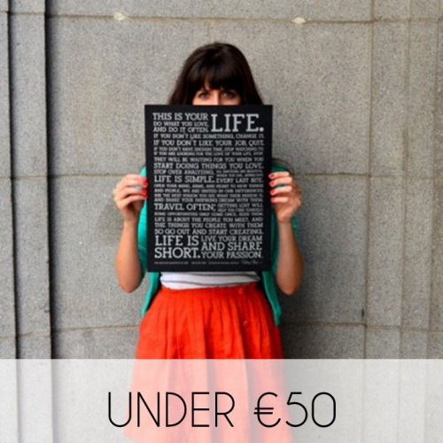 Shop Gifts Under €50