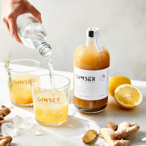Gimber | Gesunder Genuss: Alkoholfreies Ingwergetränk