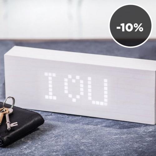 Gingko | Minimal LED clocks & speakers
