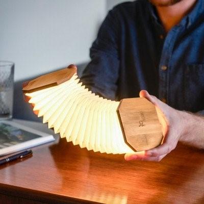 Gingko | Schön zu haben: Smarte Akkordeon-Lampen