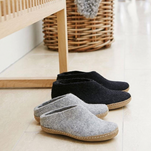 glerups | Hygge-proof: natural felt slippers