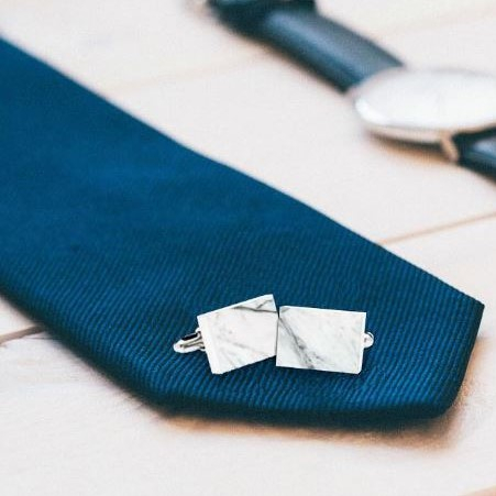 Mikol | Men's Genuine Marble Suit Accessories