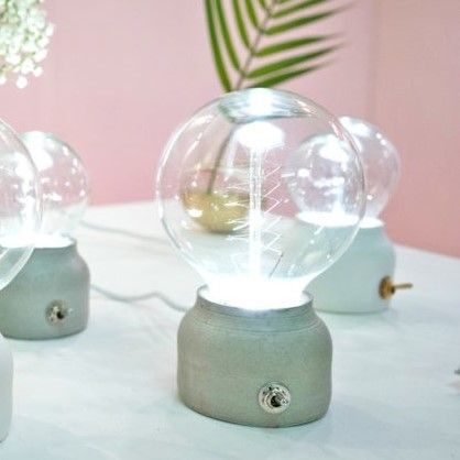 Bmix Studio | Concrete Light Bulbs