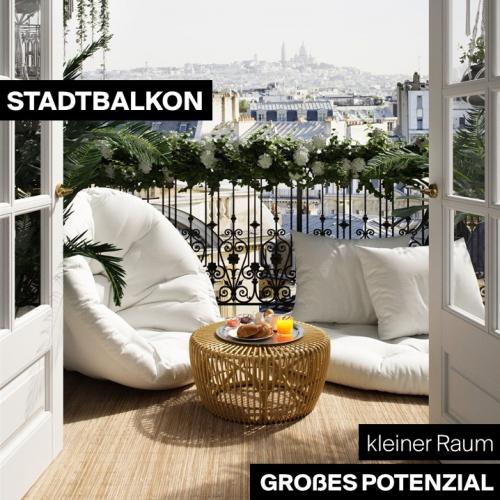 Stadtbalkon   Kleiner Raum, großes Potenzial