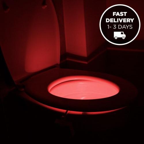 IllumiBowl   Light Up your Toilet