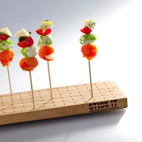 Stick It | Es geht hoch hinaus für Fingerfood