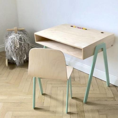In2Wood | Robuste Kindermöbel mit farbigen Details