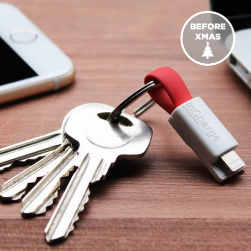 Incharge | The Smallest Keyring Cable