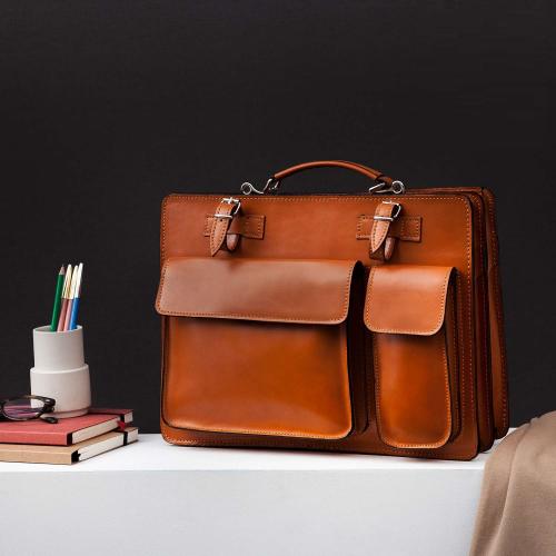 Italia in Progress | Zeitlose Business Handtaschen aus Leder