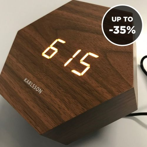 Karlsson | Clocks with Clever Design