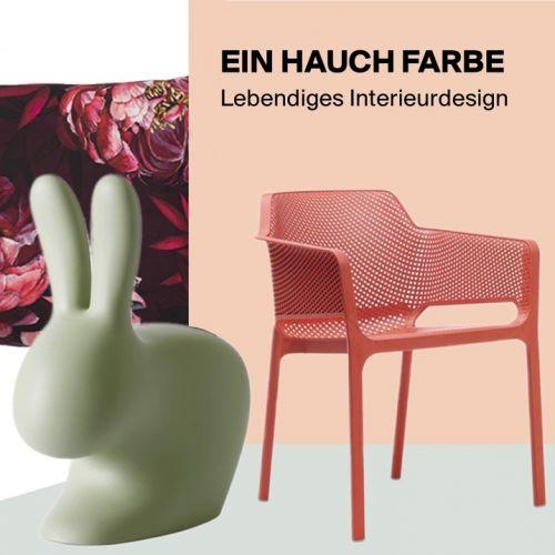 Ein Hauch Farbe | Lebendiges Interieurdesign