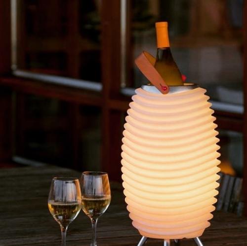 Kooduu | Lampe, Kühler und Lautsprecher. Alles in 1