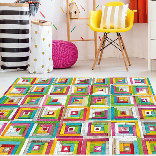 Laroom | Vinyl rugs & colourful accessories