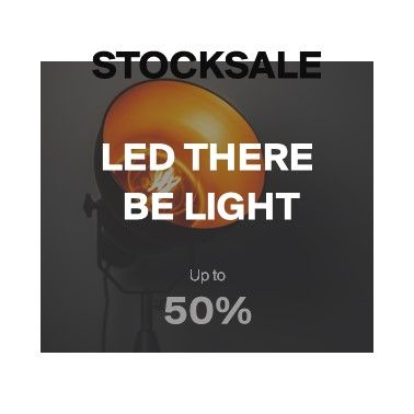 LED there be light | Bis zu 50%