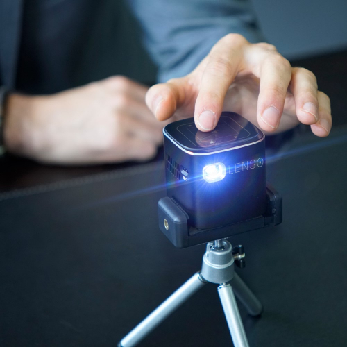 LENSO | Compact miniature pocket projector