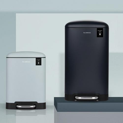 Les Collectors   Abfall de luxe: Mülleimer mit Smart-Close-System