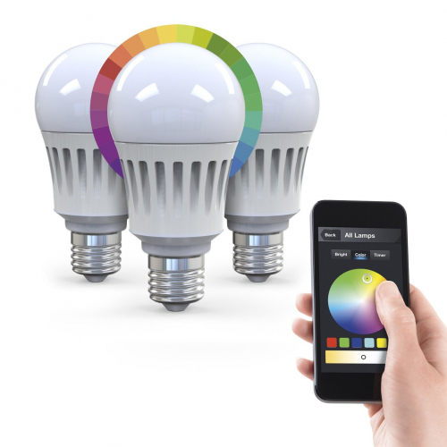 LUXXUS | App Controlled Multi-colour Smart Lighting
