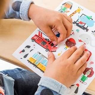 Makii | Colouring & sticker books for kids