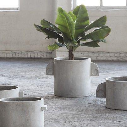 Marie Michielssen for Serax | Pflanztöpfe aus Beton