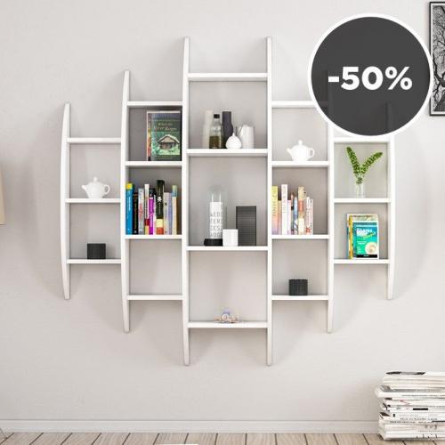Minar by Homemania | Chipboard Wall Furniture