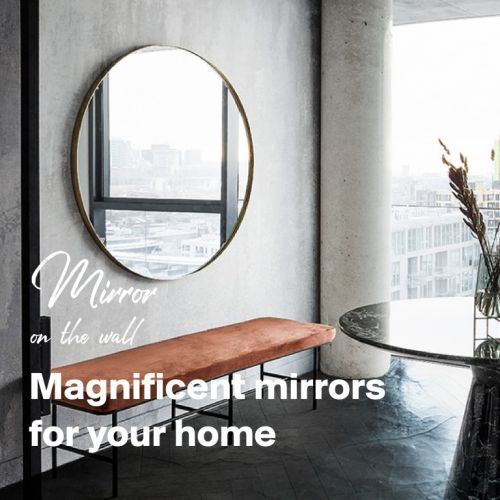Spieglein an der Wand | Spektakuläre Spiegel für jeden Raum