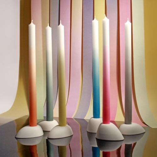 Mó Man Tai   Colourful Gradient Candles