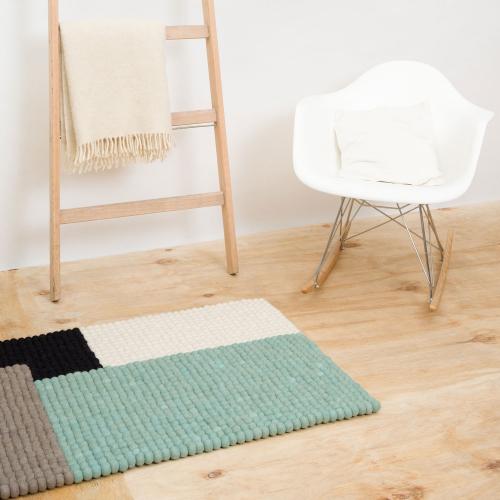 myfelt | Moderne Filzkugelteppiche