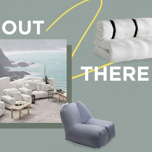 Outdoor Poufs   Die trendigsten Sitzsäcke für den Außenbereich