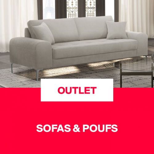 Outlet | Sofas & Poufs
