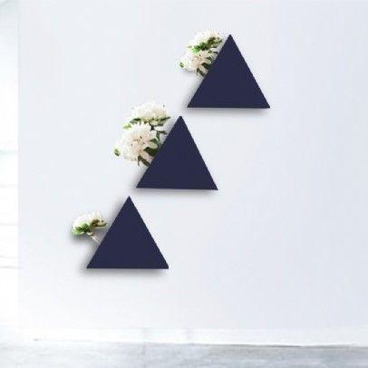 Layla Mehdi Pour | Captivating Triangular Vases